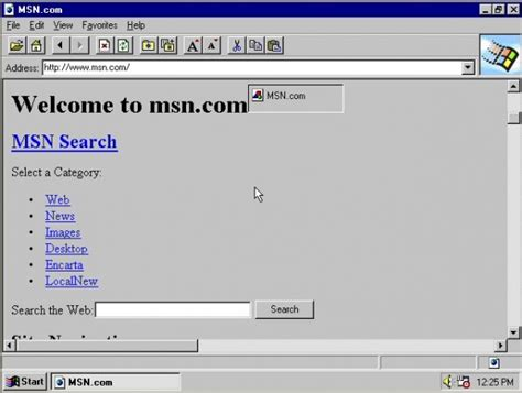 looking back at the version of explorer