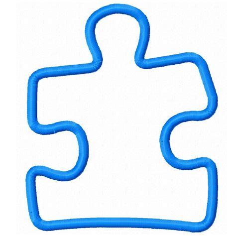 Autism Outline by Puzzle Pieces Outline Cliparts Co