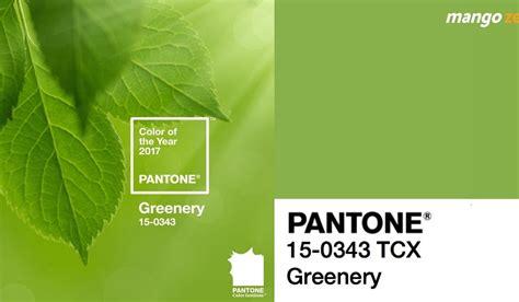 what is the color of 2017 pantone ประกาศแล ว ให ส เข ยว greenery เป นส แห งป 2017