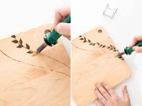 Easy Wood Carving For Beginners by How To Make Your Own Custom Cheese Board Brit Co