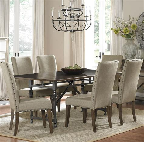 leather dining chairs with nailheads dining chairs amusing dining chairs with nailheads
