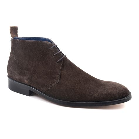 buy brown suede chukka boots for gucinari