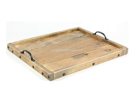 wooden serving trays for ottomans ottoman tray wooden coffee table tray dry use serving tray