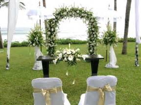 Home Wedding Decoration by Simple Wedding Decorations Ideas