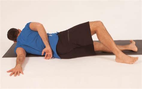 tutorial yoga man jock yoga tutorial floor shoulder chest stretch amongmen