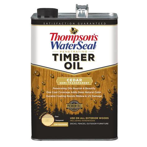thompsons waterseal  gal semi transparent cedar