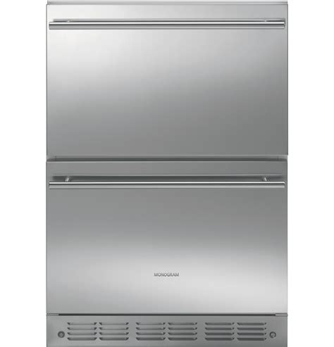 ge monogram refrigerator drawers ge monogram 174 double drawer refrigerator module