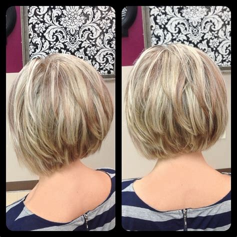 bob hairstyle long layers on top shorter layers underneath hair short layered bob hairstyles back view hairstyle for