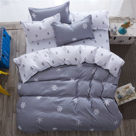 full size bed sheets modern style bedding sets polyester duvet cover set sheet