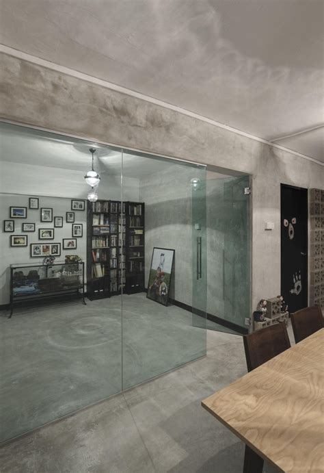 cement screed theme home sweet home space interiors