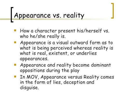 themes in othello appearance vs reality college application essay titles college admissions