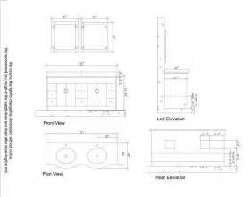 Standard bathroom sink cabinet dimensions bathroom design ideas
