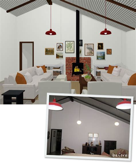 virtual room makeover a virtual room makeover before and after
