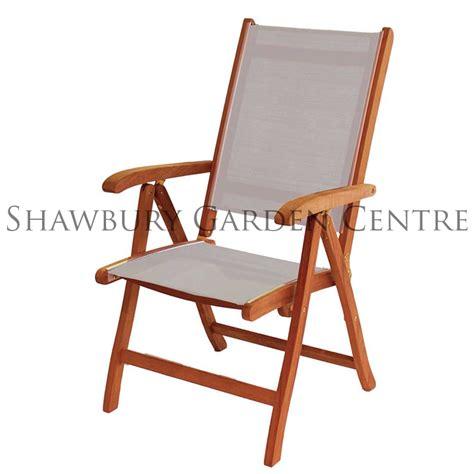 reclining garden chairs uk alexander rose cornis textiline recliner garden chair