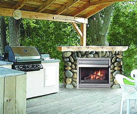 outdoor propane gas fireplaces fireplaces