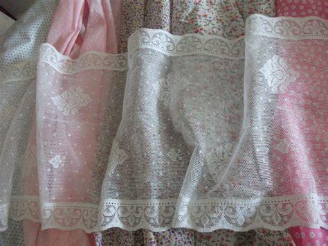 cotton lace fabric for curtains vintage cotton white nottingham lace curtain tablerunner