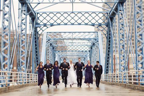 Blue White Gr6071 grand rapids wedding photography blue bridge downtown