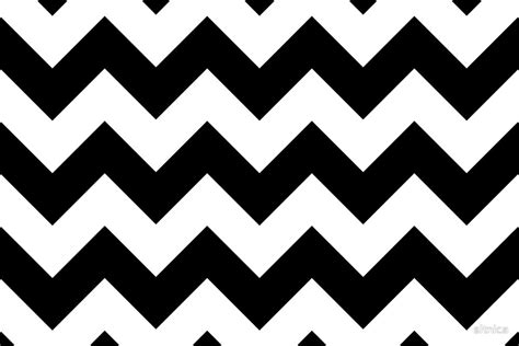 Black And White Zigzag Pattern | quot zigzag pattern chevron pattern white black quot by sitnica
