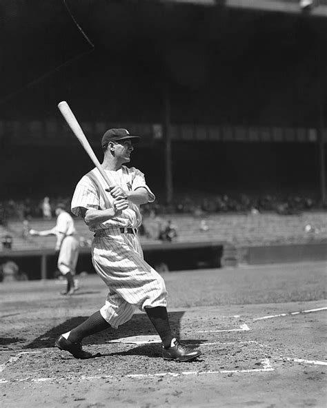 lou gehrig swing lou gehrig great swing by retro images archive