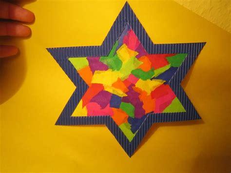 Basteln Sternen by Bunter Leuchtstern Kreative Sterne Aus Papier Basteln