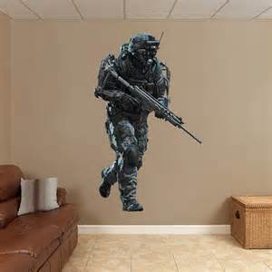 Nba Wall Murals marine call of duty advanced warfare wall decal shop