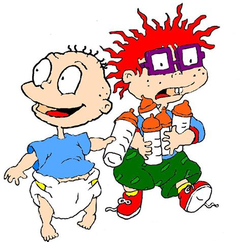 chucky from rug rats rugrats and chuckie by jesstina22 on deviantart