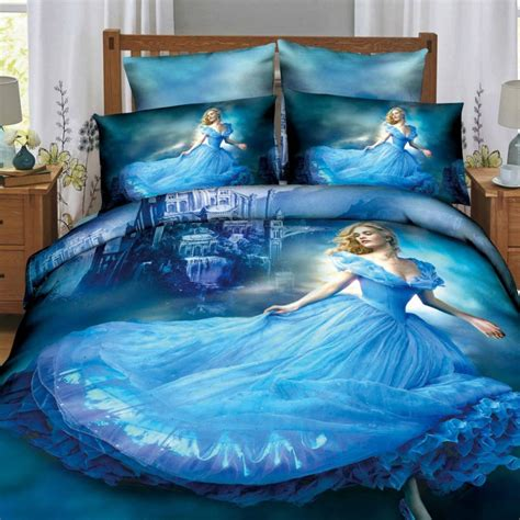 Online Get Cheap Cinderella Bedding Aliexpress Com Cinderella Bedding Set