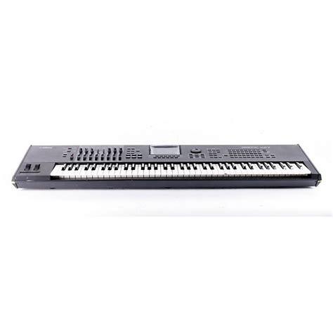 Keyboard Yamaha Motif Xf7 Yamaha Motif Xf7 76 Key Production Synthesizer Music123