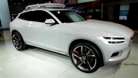 volvo xc coupe concept exterior walkaround debut   detroit auto show youtube