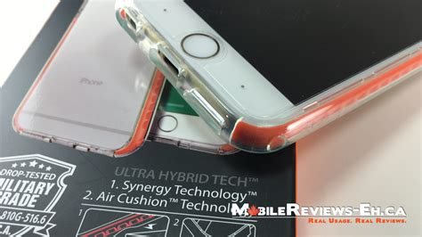 Spigen Ultra Hybrid Tech Iphone 6 S Plus6 Plus Original spigen ultra hybrid tech review iphone 6 s
