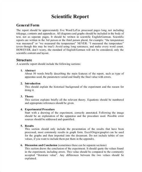 Cover Letter Exles Science Lab by Scientific Report Teacheng Us