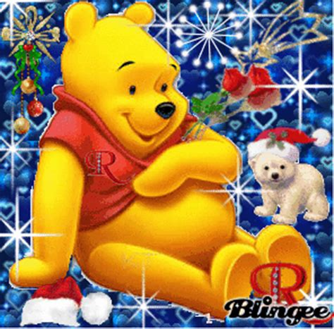 imagenes animadas de winnie pooh en navidad pooh fotograf 237 a 77701545 blingee com