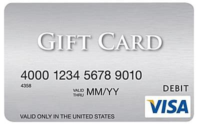 Bank Of America Visa Gift Card - image gallery new card activation