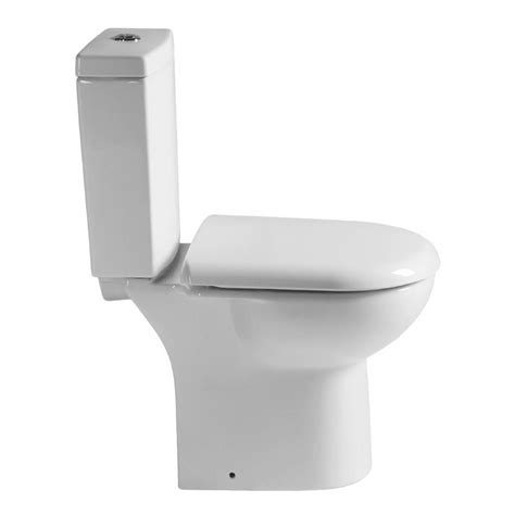 Wc Davis Plumbing by Knedlington Projection Cloakroom Toilet With Seat