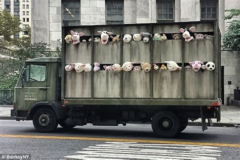 truck ny banksy s york is a roving truck