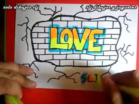 imagenes de love en grafiti como dibujar un graffitis de amor how to draw graffiti