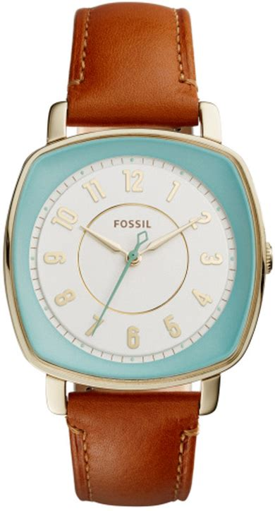 fossil idealist light brown leather s fossil idealist brown leather es3996