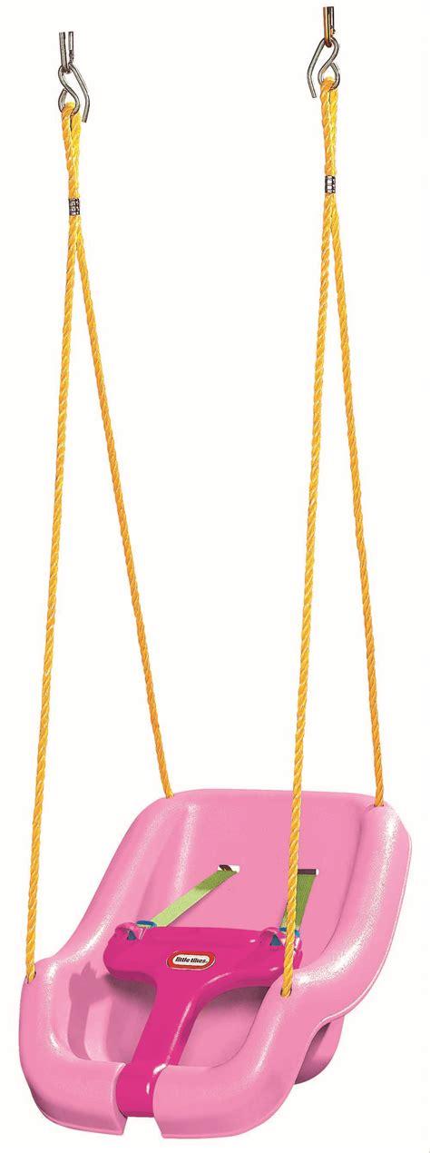 pink swings headstart international little tikes snug n secure swing