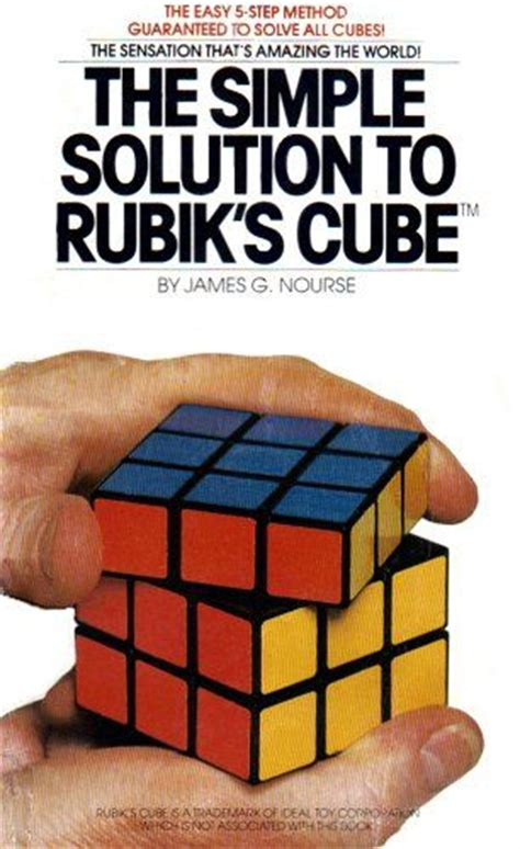 the simple books g nourse the simple solution to rubik s cube