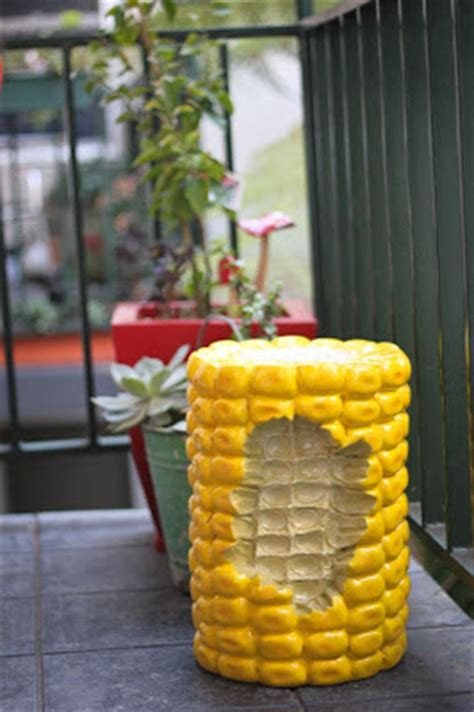 Corn In Stool by Random Chez Food Furniture