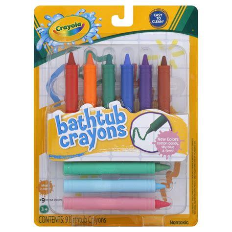 Bathtub Crayons crayola bathtub crayons 9 crayons