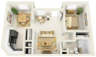 50 one 1 bedroom apartment house plans architecture amp design