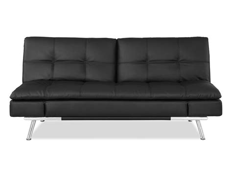 sofa convertible to bed matrix convertible sofa bed black by lifestyle solutions