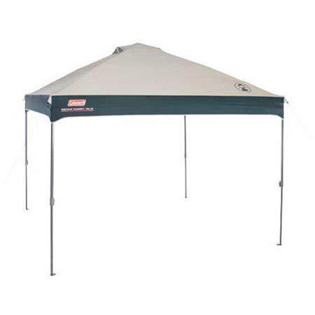 coleman 10' x 10' straight leg instant canopy/gazebo (100