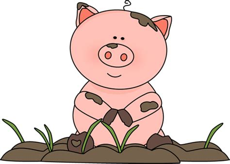 clipart pig pig in the mud clip art pig in the mud image