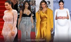 kim kardashian lookbook style evolution abbey in w