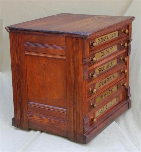 6 drawer spool cabinet large antique 6 drawer signs clarks oak thread spool