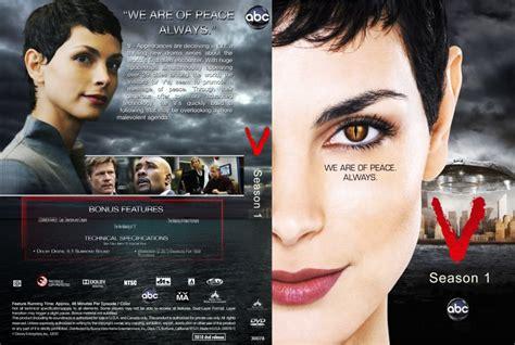 Cover Hk Tv 1 v season 1 2009 tv dvd custom covers v season 1 2009 custom dvd covers