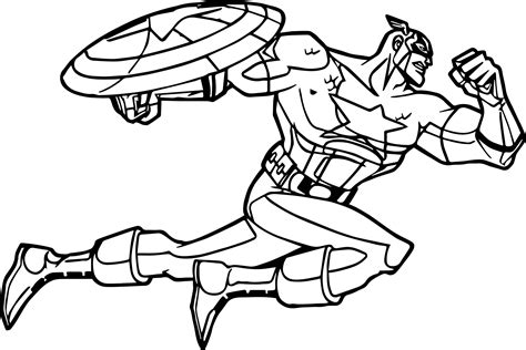 america coloring page captain america fast attack coloring page wecoloringpage