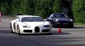 Porsche Vs Bugatti Bugatti Veyron Vs Porsche 911 Turbo Switzer R750